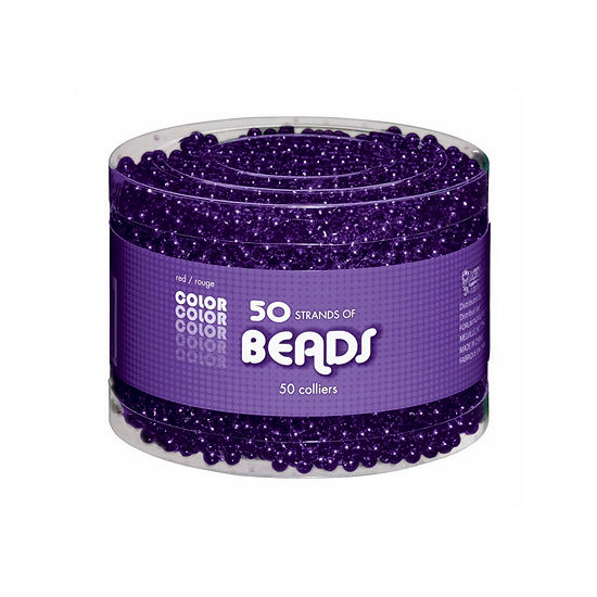 Purple Bead Necklaces-Multipack Dress Up Accessory