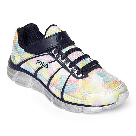 Fila Speedglide 3 Girls Running Shoes Hook and Loop - Little Kids