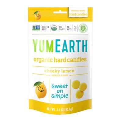 YumEarth Organic Cheeky Lemon Hard Candies - 3.3 oz - 3 Pack