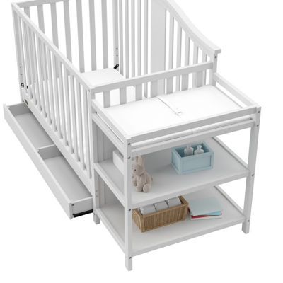 Graco Solano 4-in-1 Convertible Baby Crib and Changer