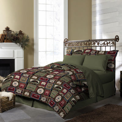 Pine Creel Forest Lodge Comforter Set