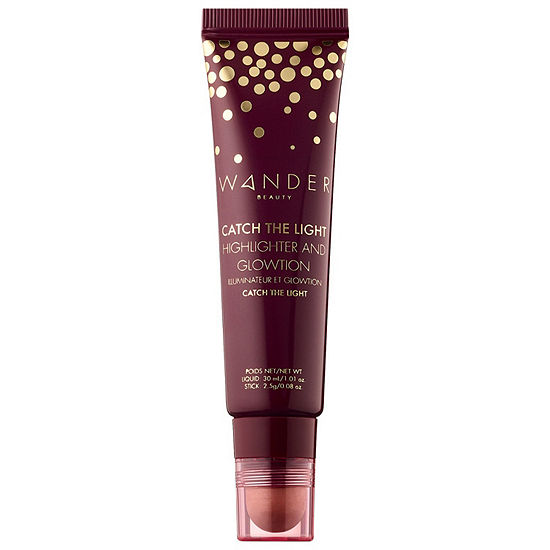 Wander Beauty Catch The Light Highlighter and Glowtion Duo