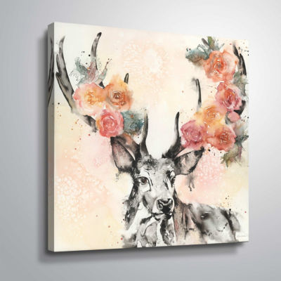 Everything Is Coming Up Roses Gallery Wrapped Canvas