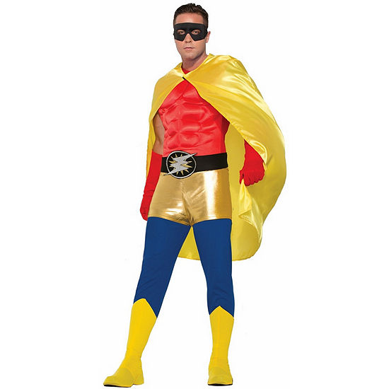 Yellow Adult Cape Dress Up Accessory