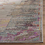 Safavieh Crystal Collection Wyatt Oriental Square Area Rug