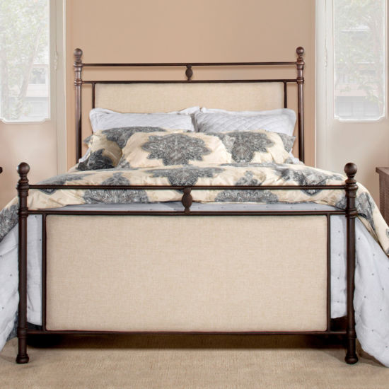 Ashley Metal Upholstered Bed