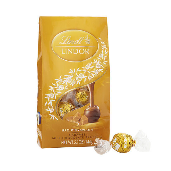 Lindor Caramel Milk Chocolate Truffles - 5.1 oz -3 Pack