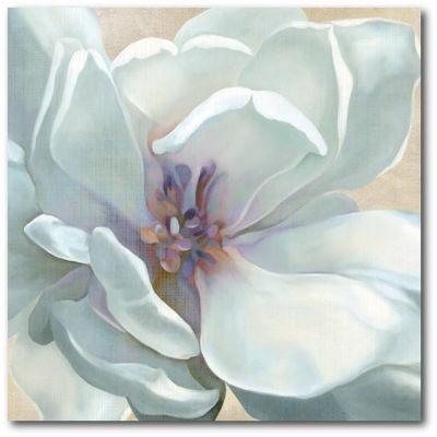 White Flower I Canvas Art