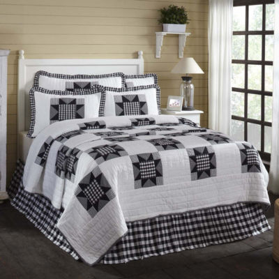 VHC Classic Country Farmhouse Bedding - Emmie Quilt