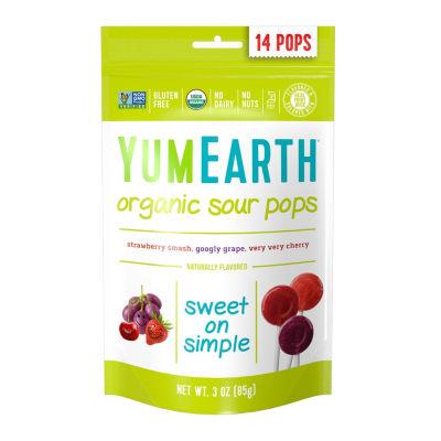 YumEarth Organic Sour Lollipops - 3 oz - 6 Pack