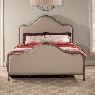 Delray Tweed Upholstered Bed