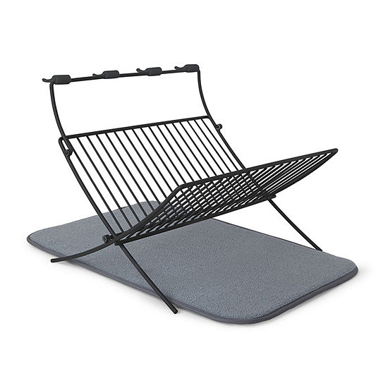 Umbra Xdry Folding Rack Dish Drying Mat