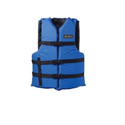 Onyx Universal Adult Extra-Large Boating Vest Blue2Xl/ 4Xl