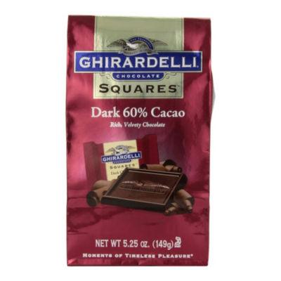 Ghirardelli Chocolate Squares 60% Cacao Dark Chocolate - 5.25 oz - 3 Pack