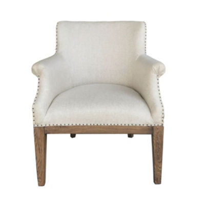 Deconstructed Linen Arm Chair