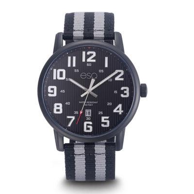 Esq Mens Two Tone Strap Watch-37esq026001a