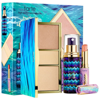 tarte Hydrate, Illuminate, Glow Beauty Essentials Set - Rainforest of the Sea™ Collection