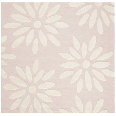 Safavieh Kids Collection Maras Floral Square Area Rug