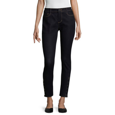 a.n.a Snap Side Ankle Skinny Fit Jeggings