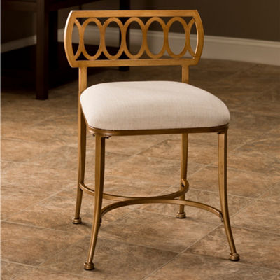 Canal Backless Vanity Stool