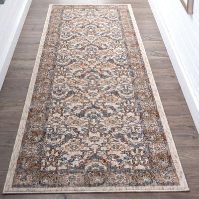 Tayse Frances Traditional Oriental Runner Rug