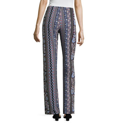 Liz Claiborne Wide Leg Pull on Pant - Tall Inseam 29.5""