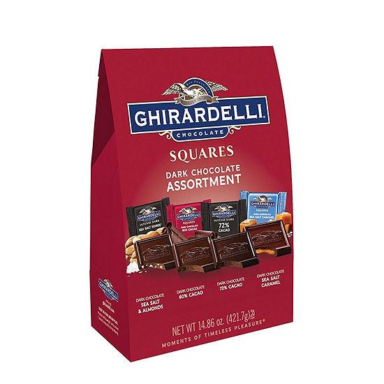 Ghirardelli Squares Premium Dark Chocolate Assortment - 14.86 oz