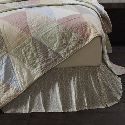 VHC Boho & Eclectic Farmhouse Bedding - Ava Bed Skirt