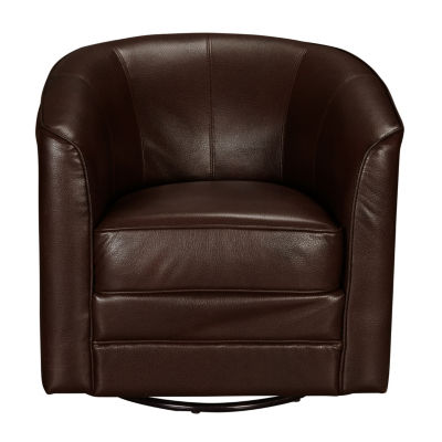 Traditional Swivel Accent Club Chair