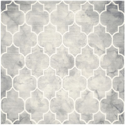 Safavieh Dip Dye Collection Sierra Geometric Square Area Rug