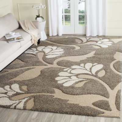 Safavieh Shag Collection Emmett Geometric Square Area Rug