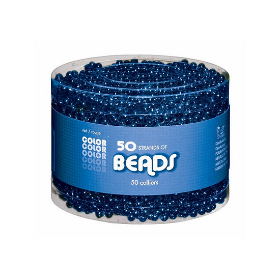 Blue Bead Necklaces-Multipack Dress Up Accessory