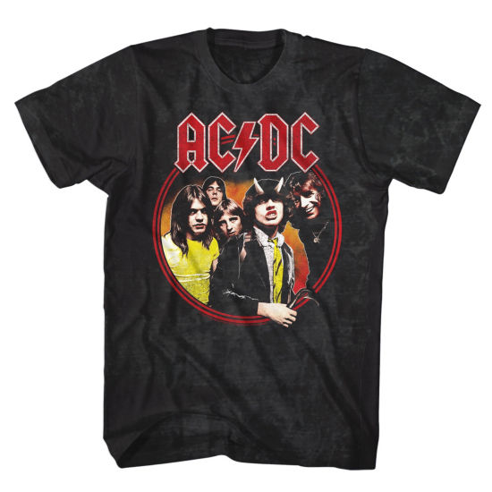 ACDC Highway To Hell Graphic Tee