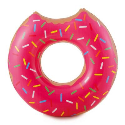 RhinoMaster Play Gourmet Strawberry Doughnut - Inflatable Tube