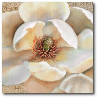 Magnolia Masterpiece III Canvas Art