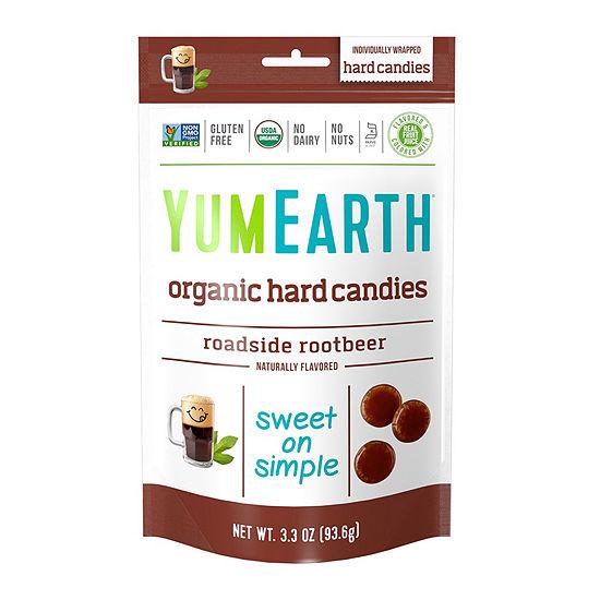 YumEarth Organic Roadside Root Beer Hard Candies -3.3 oz - 3 Pack