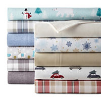North Pole Trading Co. Flannel Sheet Sets Twin