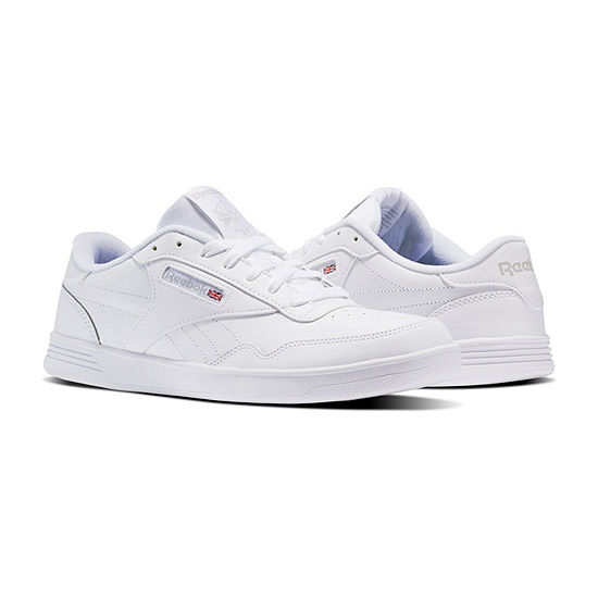 Reebok Club Memt Wd Mens Sneakers Lace-up Extra Wide Width