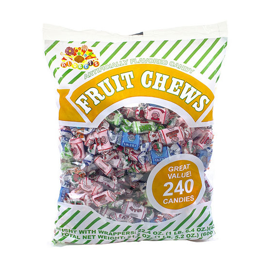 Assorted Fruit Chews 240 Count
