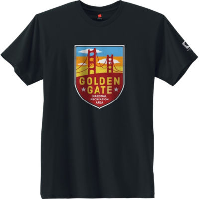 Hanes National Parks Golden Gate Graphic Tee