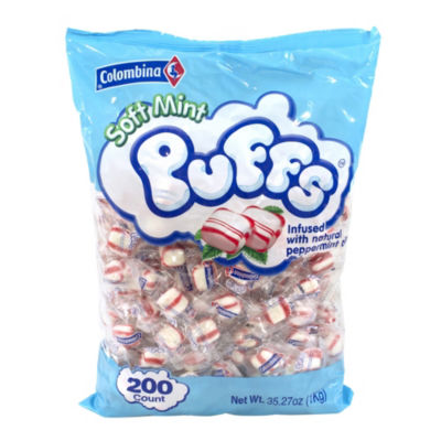Soft Peppermint Puffs 35.27oz 200 Count