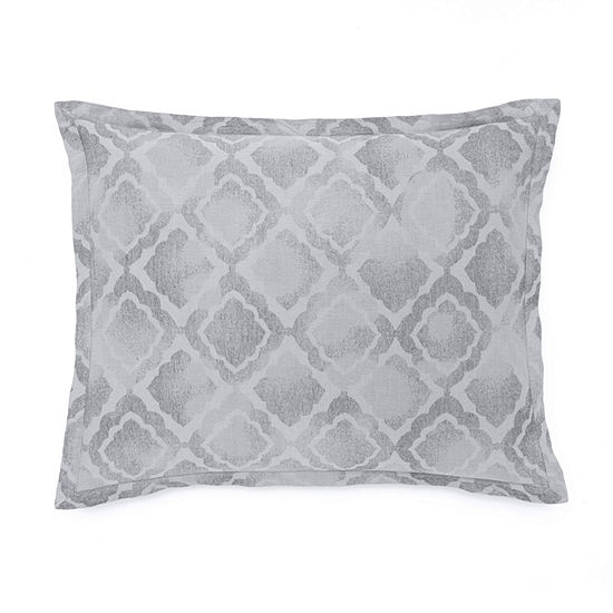 Westpoint Home Watercolor Jacquard Pillow Sham