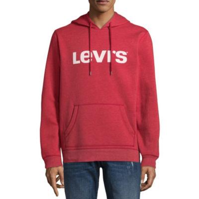 Levi's® Long Sleeve Fleece Logo Hoodie