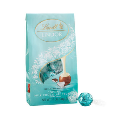 Lindor Milk Chocolate Coconut Truffles - 5.1 oz -3 Pack