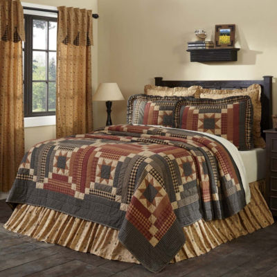 VHC Classic Country Primitive Bedding - Maisie Quilt