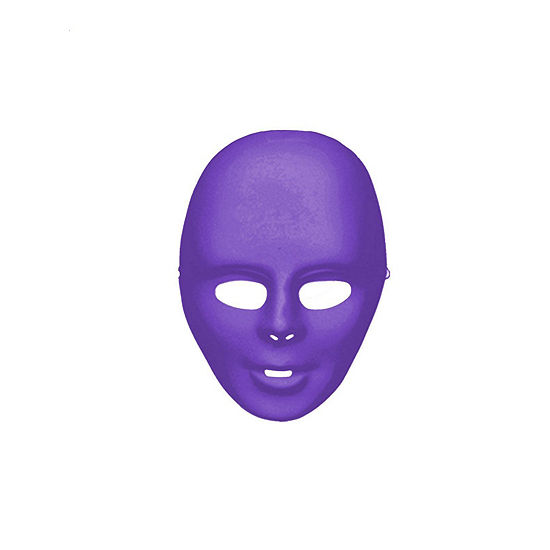 Purple Face Mask Dress Up Accessory