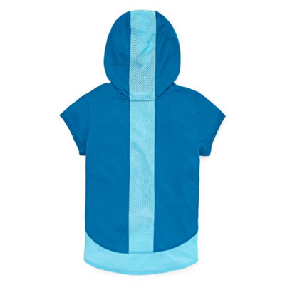 Xersion Mesh Blocked Hoodie Big Kid Girls