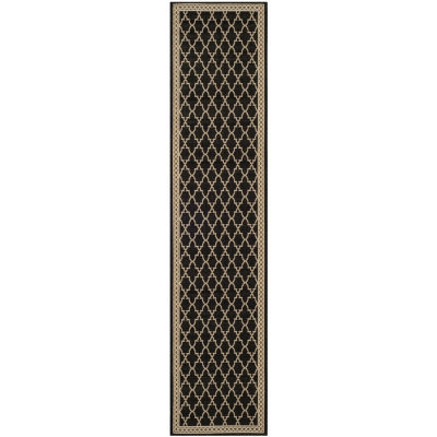 Safavieh Courtyard Collection Mitchell Geometric Indoor/Outdoor Runner Rug