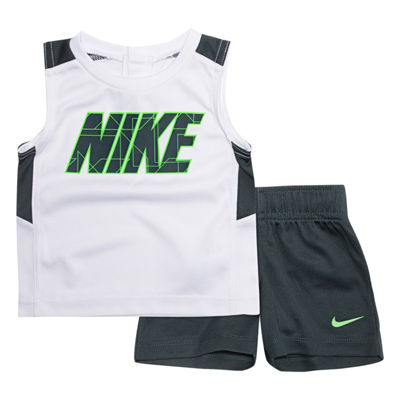 Nike Sets 2-pc. Muscle Tee Short Set Baby Boys