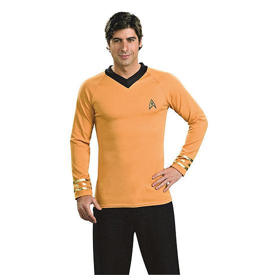 Star Trek Mens Deluxe Captain Kirk Dress Up Costume
